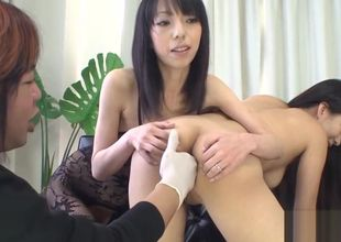 Oriental cum-hole and assfuck tear up