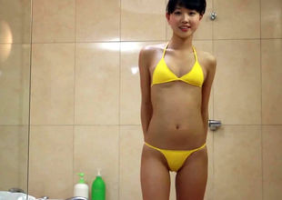 Non-Nude japanese bathing suit damsel..