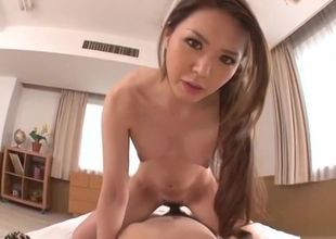 Fine-looking chinese superslut comes..