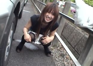 Crazy Yuzuki Hatano unveils herself in..