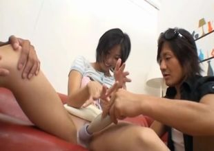 Orgy escapade for a Chinese housewife