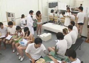 Idiotic Japanese chick Dote on Satome,..