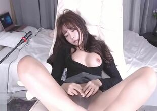 Korean 18yo pet hither Sunna pantyhose