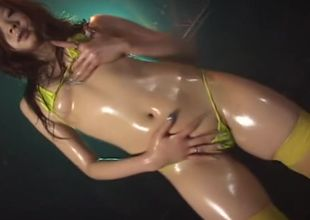Micro Swimsuit Oily Dance 1 Vignette 1..