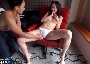 Asian pretty model having fuck-a-thon..