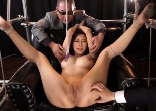 adorable asian female breathplay2741